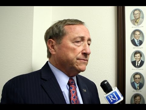 LVCVA president & CEO Rossi Ralenkotter says SB1 approval is 'critical' for convention center