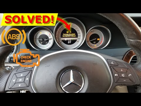 ABS Unavailable [How To Fix]: Check Engine Light Mercedes