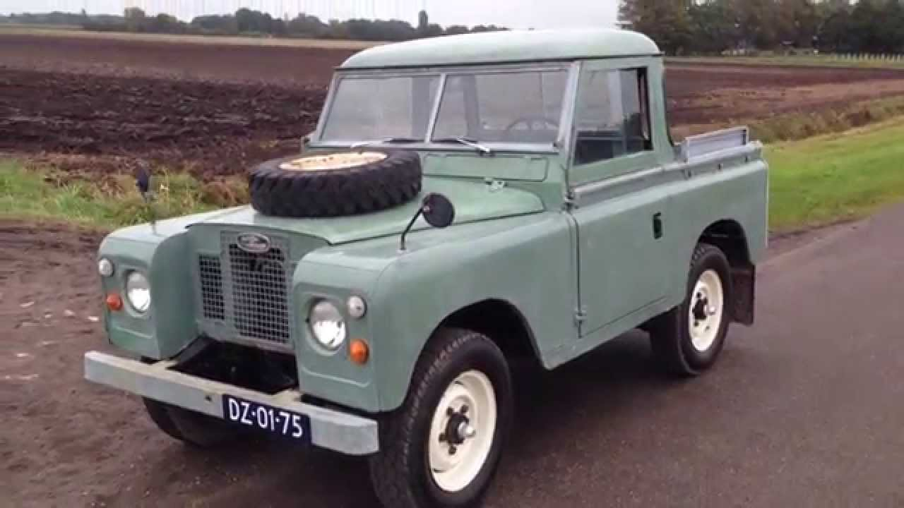 landrover 88 serie 2a 1970 youtube. Black Bedroom Furniture Sets. Home Design Ideas