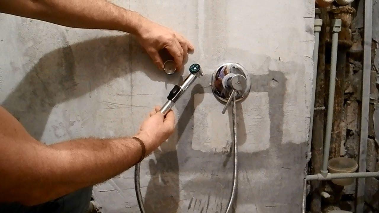 Монтаж встраиваемых смесителей grohe ремонт водопровода ванной комнаты