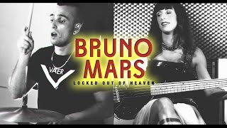 Bruno Mars - Locked out of Heaven - Drum Cover Bass Cover #FFO Uptown Funk Drum Solo Bass Solo 2015