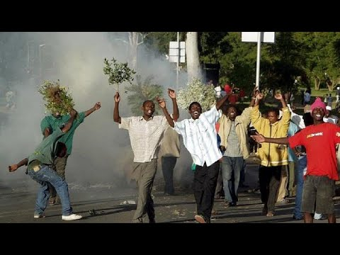 Police teargas Malawi opposition protest demanding president