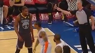 Kevin Durant Gives Trey Burke Respect After Faking Him Out