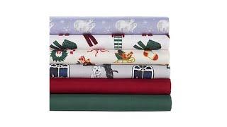Jeffrey Banks 4piece Holiday Sheet Set