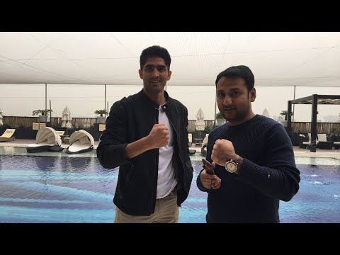 Vijender Exclusive: Boxing Champion On His Asia Pacific Rajasthan Rumble Fight