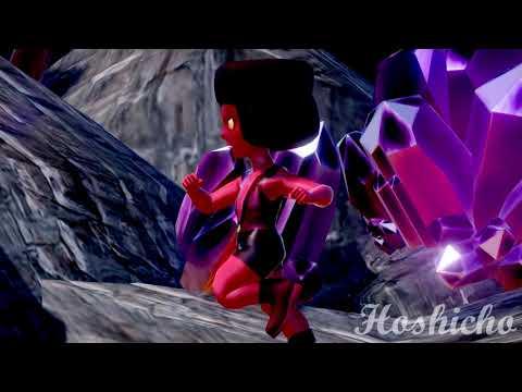 [Steven Universe] Padparadscha + Ruby FUSION : Garnet (animation)