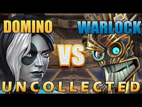 Domino VS Warlock - X-Machina Uncollected - Marvel Contest Of Champions
