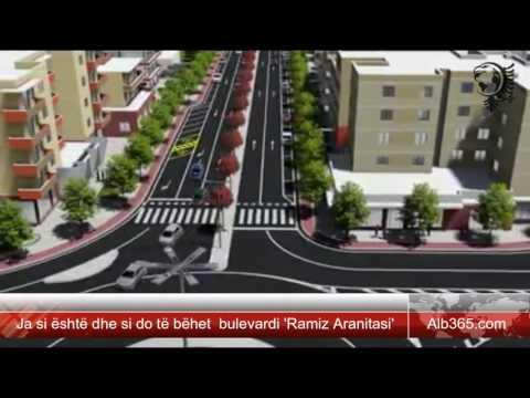 Ja si është dhe si do të bëhet  bulevardi 'Ramiz Aranitasi'