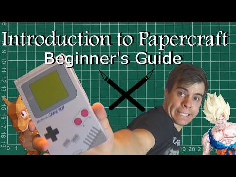 Introduction to Papercraft - A Beginner's Guide | TofuSaurus