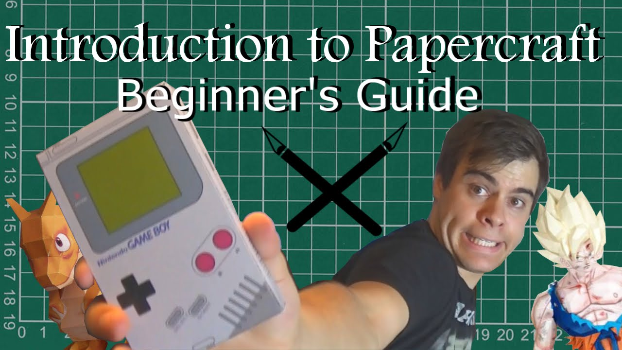 Papercraft Introduction to Papercraft - A Beginner's Guide | TofuSaurus