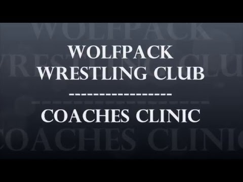 Wolfpack Wrestling Club Coaches Clinic
