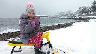 Discovery Channel Крым.Снег в Ялте
