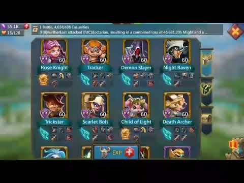 Huge Lords Mobile Trap 4.1+ Mil Troops Great P2P Gear NOW FOR SALE! 350$