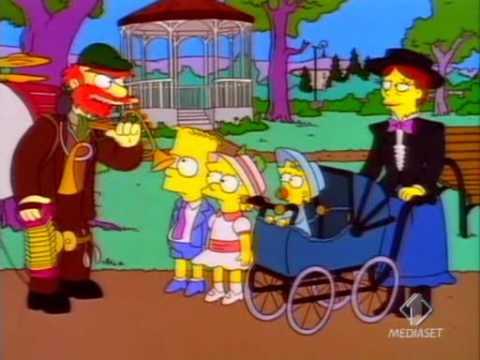 Simpsons - Il giardiniere Willie canta Maniac!!
