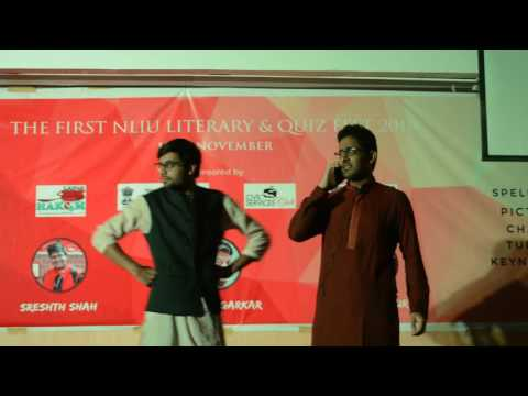 Part-1 RAMLEELA  2016 - Theatre Competition, NLIU Literary & Quiz Fest