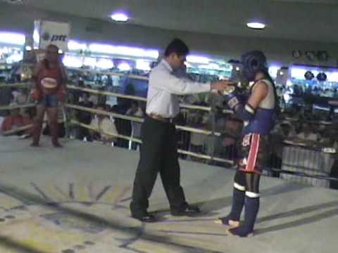 Muay Thai MAP 31/80 Ana Marie Rey vs Violeta Lagaw...