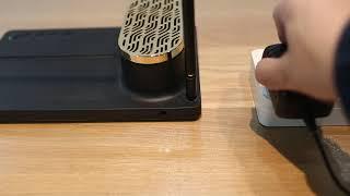 Music Desk Organizer Lamp