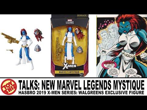 """MARVEL LEGENDS X-MEN SERIES MYSTIQUE 6/"""" FIGURE ROGUE WALGREENS new"""