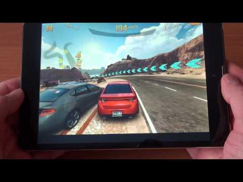 teXet NaviPad TM 7887 3G Asphalt 8 GamePlay