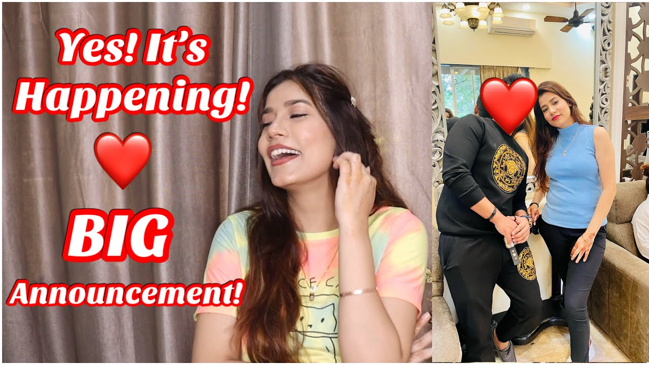 Download Yes! it's happening 😍 Huge Announcement 🙈 Life Update❤️   Sejal Vlogs