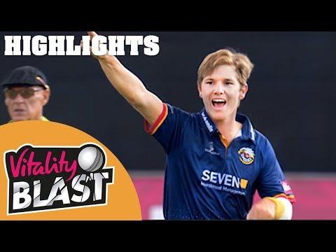 Extraordinary Match TIED Off The Last Ball | Essex v Hampshire | Vitality Blast 2018 - Highlights