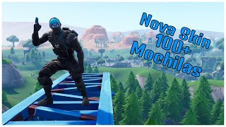 SHOWING THE * NEW * COBALT SKIN & 100 + BACKPACKS | FORTNITE