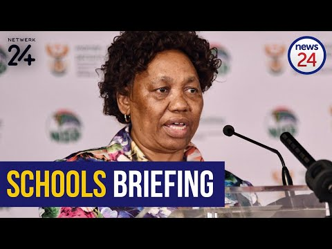 WATCH LIVE | Reopening of schools: Angie Motshekga to give update on preparations