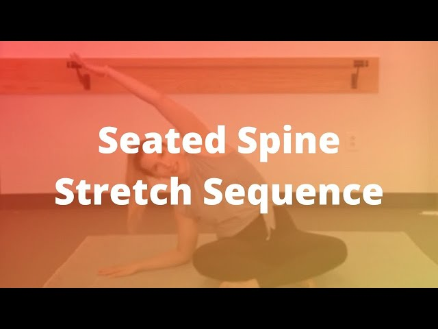 Seated Spine Stretch Sequence (8-min)