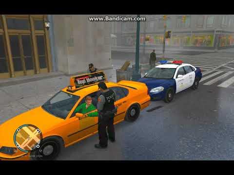 GTAIV台灣警察模族 攔查違規計程車