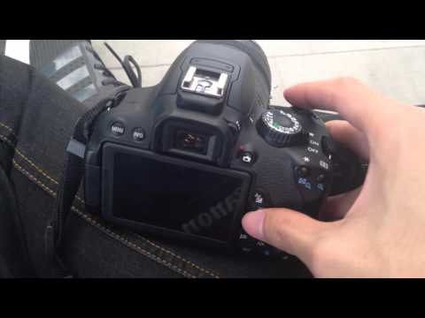 Canon 650D LCD screen not working