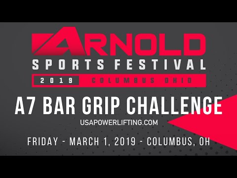 A7 Pro Raw Challenge - USA Powerlifting at 2019 Arnold Sports Festival