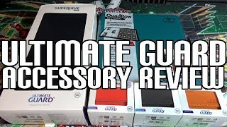 New Color Changing Deck Boxes & Superhive Card Storage - Ultimate Guard Review
