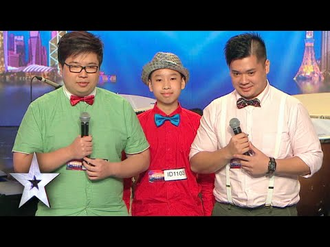 Quirky Young Boys Deliver Unique Musical | Asia's Got Talent Episode 5