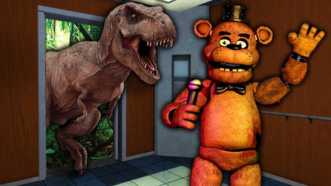 We Rode The Strangest Elevator In Gmod! - Garry's Mod Multiplayer - Source  Elevator