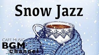 Winter Night Jazz Music  Stress relief  Relaxing Cafe Jazz Music For Sleep, Work, Study