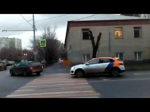 Москва 1743 Мартеновская улица зима день