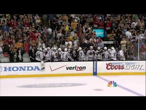 Blackhawks score twice in 17 seconds to win Stanley Cup