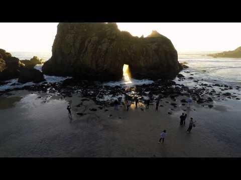 Big Sur's Keyhole Rock