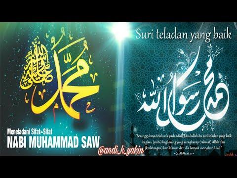Uswatun hasanah Rosullullah SAW bagi orang yang terpilih .... mau? Simak video ini (Qs. AL AHZAB 21)