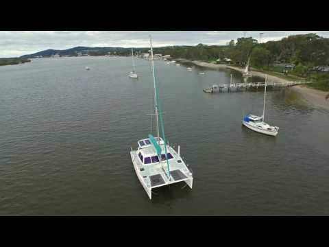 "2014 McDavitt Rogers 10.5 catamaran for sale - ""Cilla V"""