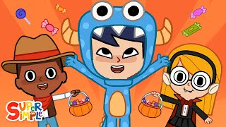 Hello, Trick Or Treat? | Halloween Song for Kids | Super Simple Songs