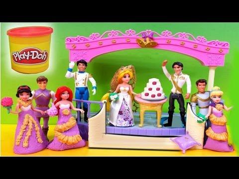 Disney Little Kingdom Fairytale Wedding Rapunzel Doll Gift ...