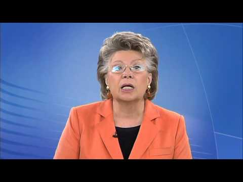 """Commissioner Viviane Reding on """"Couples in Europe"""" Website"""