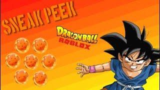 [ROBLOX] ¡SNEAK PEEK EN UN JUEGO DE DRAGON BALL! Juego de bolas de dragón sin título!