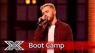 Niall Sexton sings Coldplay's Fix You    Boot Camp   The X Factor UK 2016