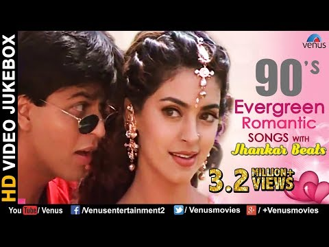 90's Evergreen Romantic Songs - JHANKAR...