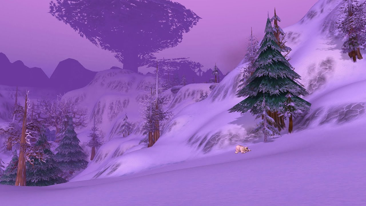 Winterspring - Original Wow Music - YouTube