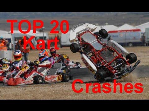 TOP 20 Kart Crash Compilation