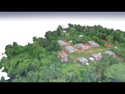 3D Vegetation Drone Mapping - São Joaquim -  Príncipe -São Tomé & Príncipe