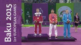Bogomoev wins Gold for Russia | Wrestling | Baku 2015 European Games